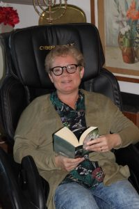 Friskonomens massagefåtöljer hjälper Susanne