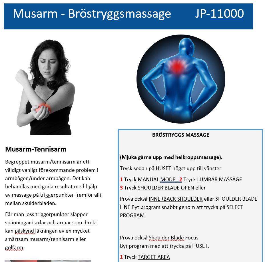 Bröstrygg JP-1100